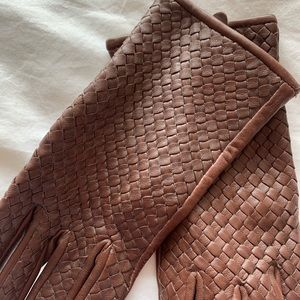 Ralph Lauren Accessories - NWOT Brown Leather Gloves